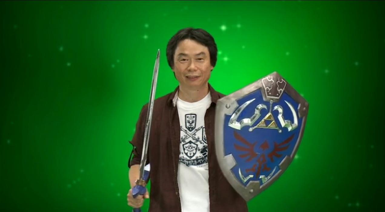 Zelda Creator Shigeru Miyamoto