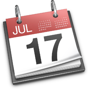 Mavericks Calender Icon