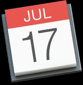 Yosemite Calendar Icon