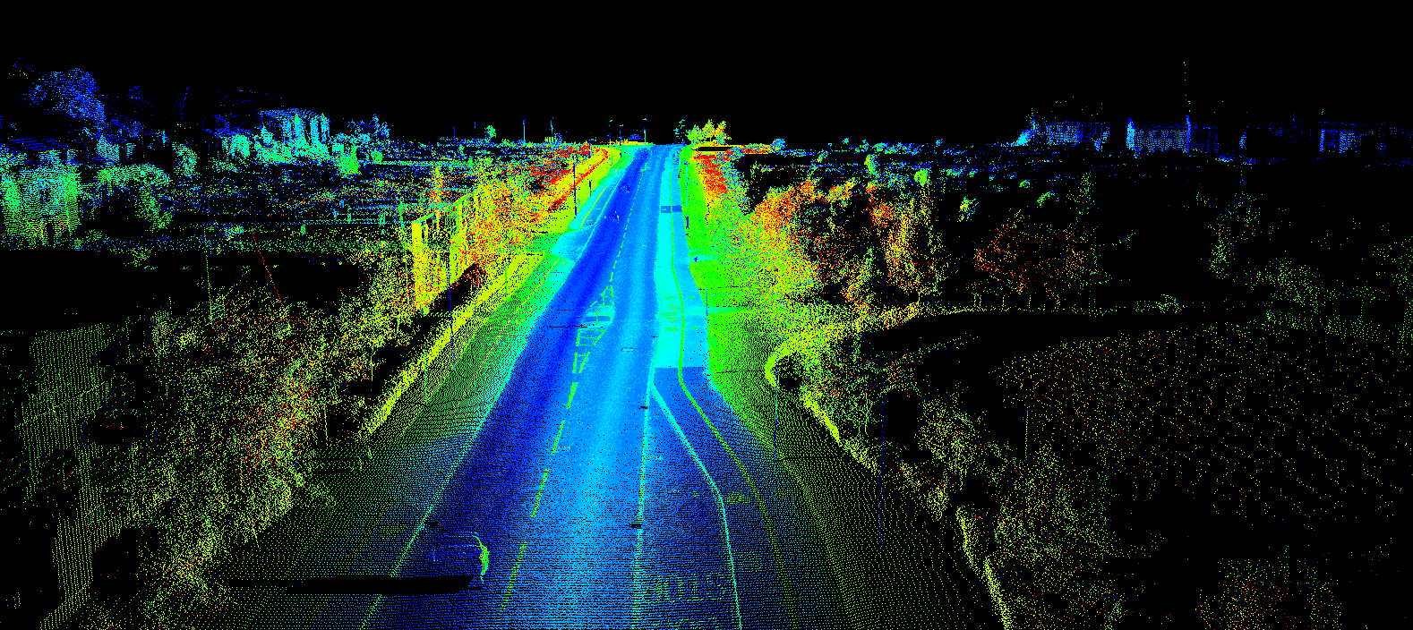LiDAR is a method for measuring distances (ranging) by illuminating the target with laser light and measuring the reflection with a sensor